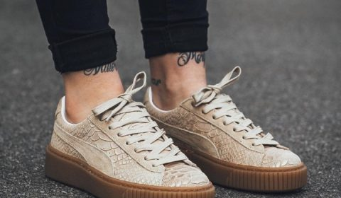 Like! Puma Platform Exotskin W  Natural VachettaGold puma schoenenverslaafdhellip